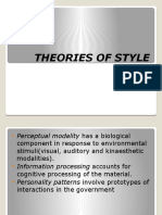 Theories of Style