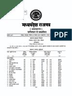 Madhya Pradesh State List of Holidays 2020