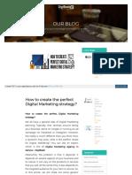 Www Digibask Com Perfect Digital Marketing Strategy