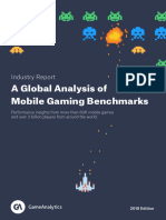 GameAnalytics Benchmarks Report 2018
