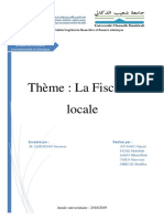 fiscalité locale marocaine