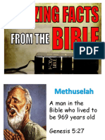 facts about the bible