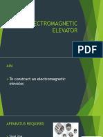 Electromagnetic Elevator