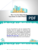How Can You Make Ready Your Home To Sell It With Profit?