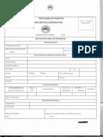 SBP Form 2019