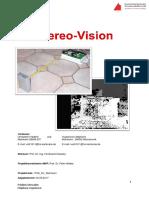 Stereo Vision - Explanation - German