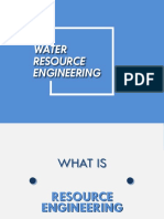Civil Engineering - Water Resource Engineering Introduction PPT