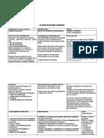 FORMATO PLANIFICACION 2020  5to básico unidad 2