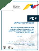 IE-B.3.2.1-DM-01 NUEVO Instructivo RS, reisnc, modif Dispositivos Medicos