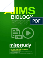 AIIMS Biology Sample eBook