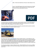 68203Toyota Material Handling Forklifts by Southeast Forklifts