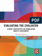 Evaluating the Evaluator