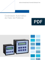 WEG Control Ad Or Automatico Do Fator de Potencia Pfw01 50025399 Catalogo Portugues Br