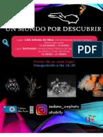 """Fotoexposición ""Un mundo por descubrir"""