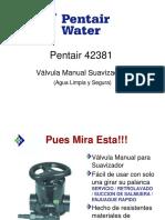 VALVULA MANUAL DE ABLANDADOR