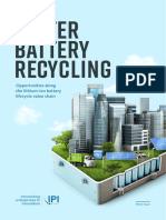 Lithium-ion Battery Recycling White Paper