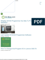 A List of Programmable and Non Programmable KBC Microcontroller