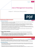 BA2-Chapter 9 -Performance Measurement