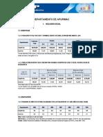 DEPARTAMENTO DE APURIMAC  I.S