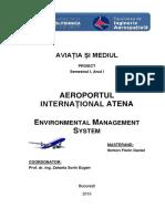 Enviromental Management System - Aeroportul International Atena
