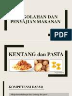 ppt materi kentang dan pasta