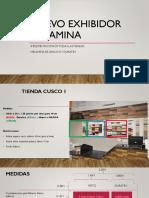 Presentación Visual de Exhibidores Cusco Arauco 03Oct