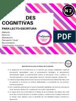 Habilidades cognitivas para lectoescritura