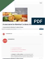 Vitamina C-importanza -Da Paginemediche Nbnbnb