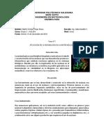 Aplicación de la Enzimología