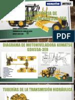 TREN DE POTENCIA DE MOTONIVELADORA GD655A-3E0