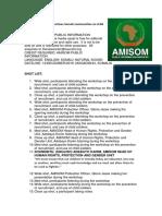 AMISOM Sensitises Somali Communities on Child Protection