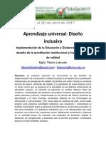 2 22 1 Labrador Tibaire-Aprendizaje Universal Diseno Inclusivo
