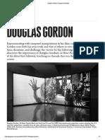 Douglas Gordon Katrina Brown,  Gagosian Quarterly