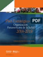Strategic Plan Paho 2014 2019 Es