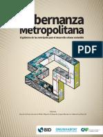 Gobernanza Metropolitana El Gobierno de Las Metrópolis Para El Desarrollo Urbano Sostenible