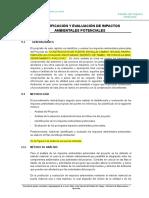 Cap 5.0 EIA IDENTIFICACION Y EVALUACION DE IMPACTOS ok------.doc