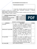 Formato de Instrumento de Evaluacion Nt