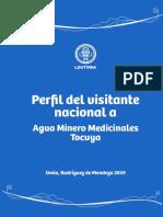 Perfil del visitante a Tocuya (Agua Minero Medicinal)
