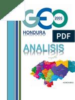 Analisis GEO Honduras 2005