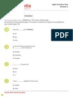 APTIS Grammar test