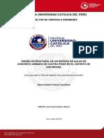 DISEÑO DE CONCRETO ARMADO - DANIEL CHANG