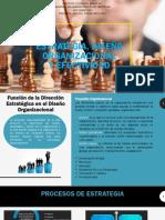 Estrategia, Diseño Organizacional y Efectividad