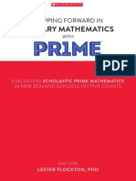 Stepping Forward Into Primary Mathematics With PR1ME