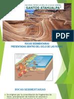 Se originan por la consolidación de fragmentos de rocas, precipitación de materia en solución o compactación de remanentes de plantas y/o animales.