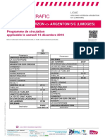 Info Trafic Axe j _ Orleans-Vierzon-Argenton S_c (Limoges) Du 14-12-2019