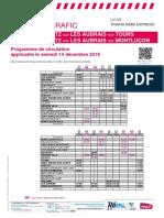 Info Trafic Axe q - Trains Region Centre-Val de Loire Du 14-12-2019