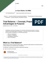 Trial Balance - Concept, Preparation, Advantages & Purpose.pdf