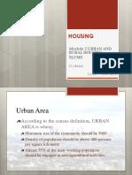MOD 2 - Urban n Rural, Slums