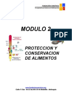 Modulo 2 Conservacion de Alimentos