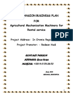 Agribusiness Proposal